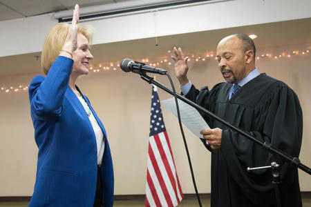 Mayor Durkan swearing in