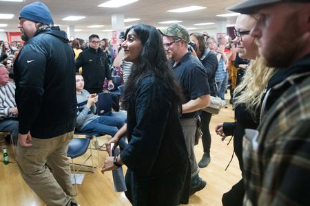 Kshama Sawant at her election party