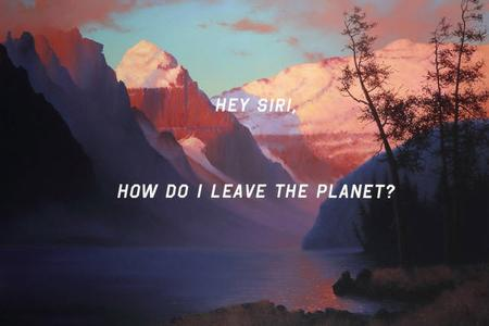 Shawn Huckins' Evening Glow at Lake Louise Hey Siri