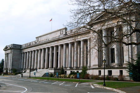 The Temple of Justice, home to Washington's State Supreme Court