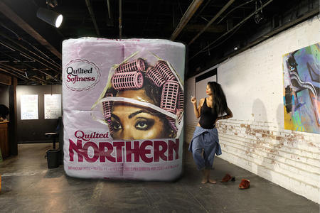 "Tariqa Waters's ""Quilted Northern"" at BAM"