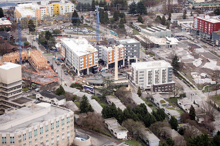 Reconstruction of housing in the Yesler Terrace area