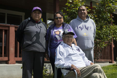 The Williams family, who lost 82-year-old matriarch to COVID-19.