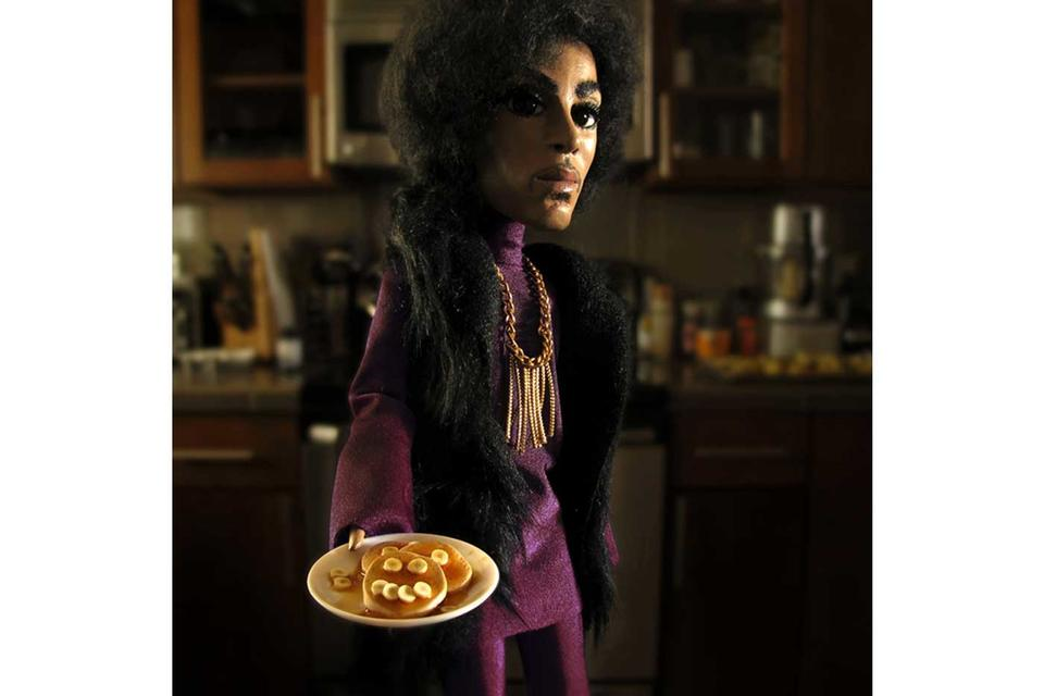 Prince with Pancakes