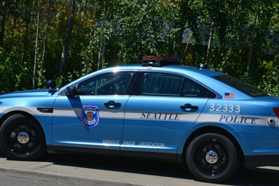 A Seattle police department car. Credit: cmnphoto/flickr