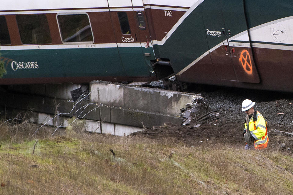 Amtrak Train Derailment Washington State