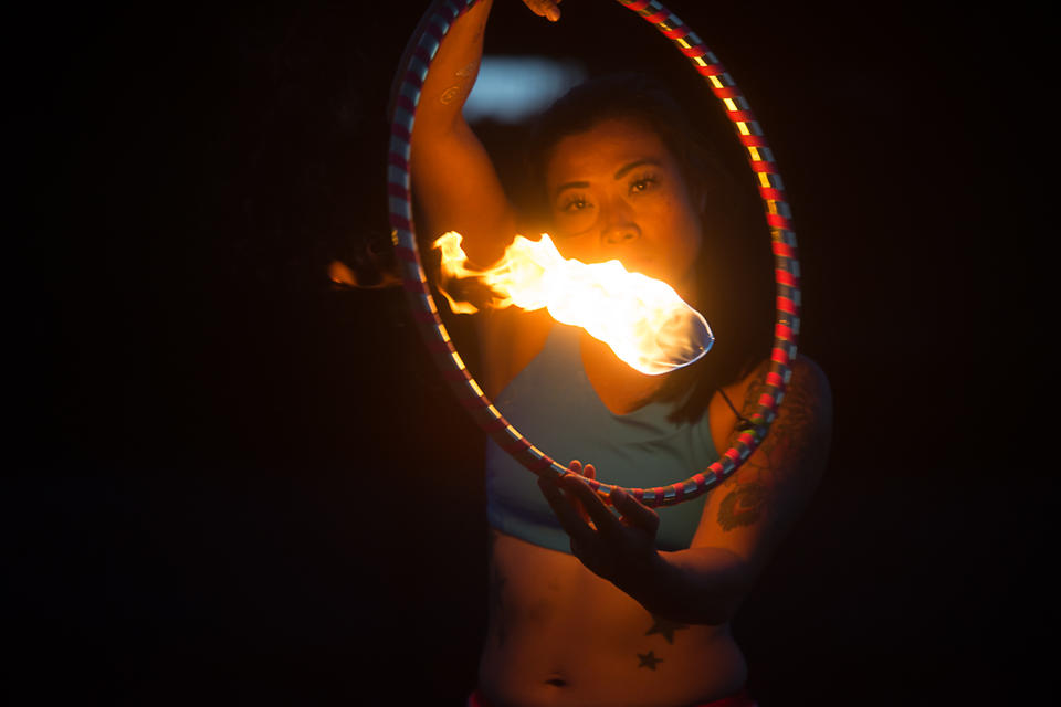 Playing With Fire Inside Seattle S Fire Dancing Scene