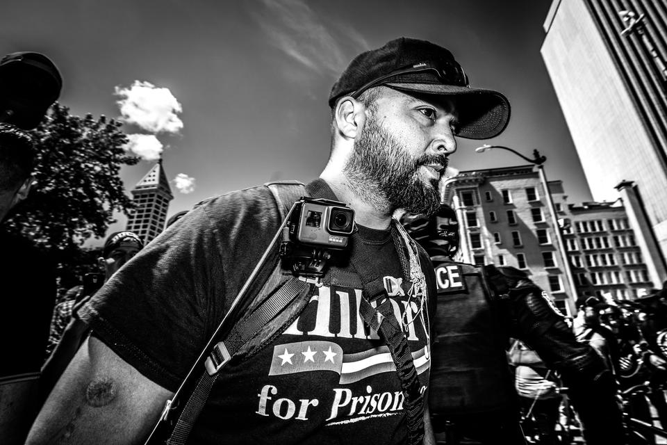 Patriot Prayer leader dislikes racists, but they seem to
