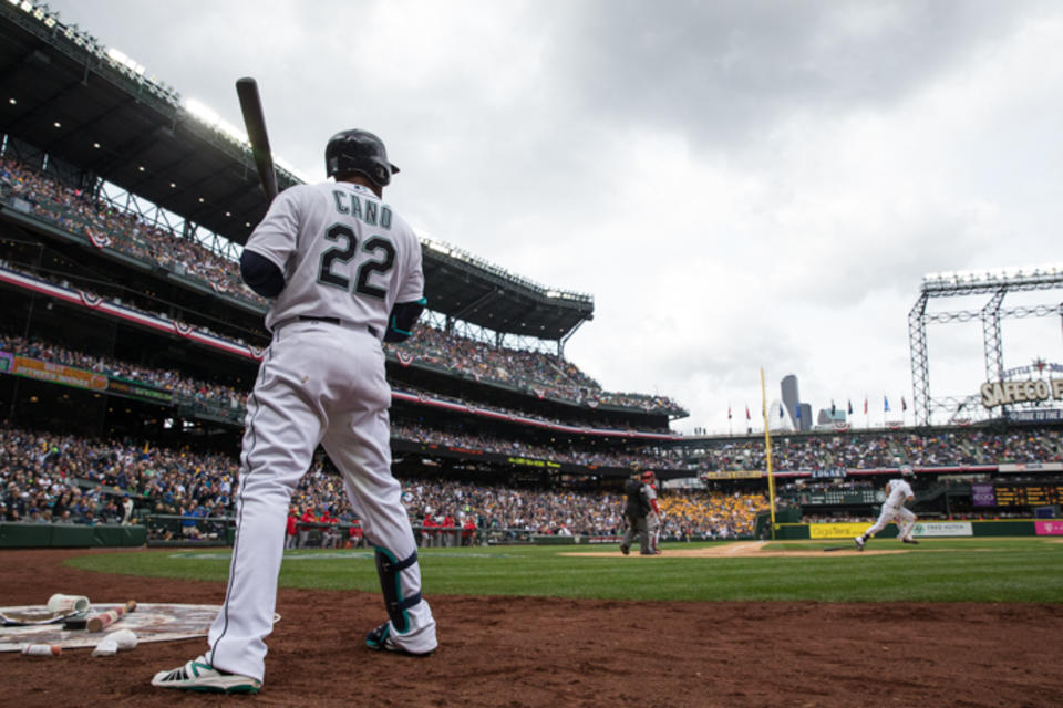 Robinson Cano Opening Day 15