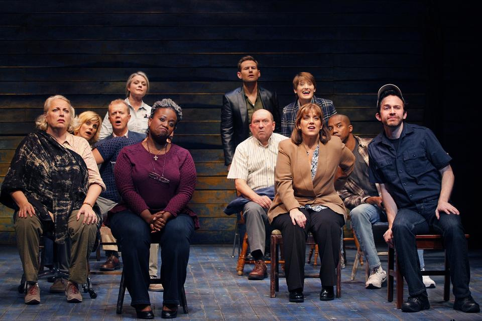 Seattle Rep Come From Away Photo by Chris Bennion