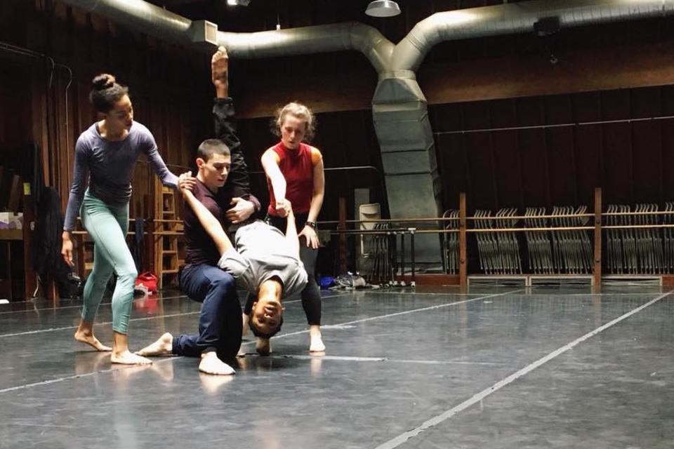 Dances in rehearsal for Spectrum Dance Theatre