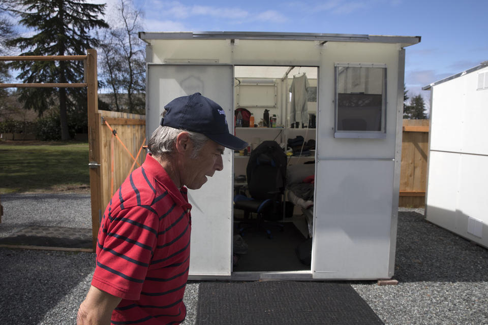 Lynnwood uses disaster shelters for the homeless  Could