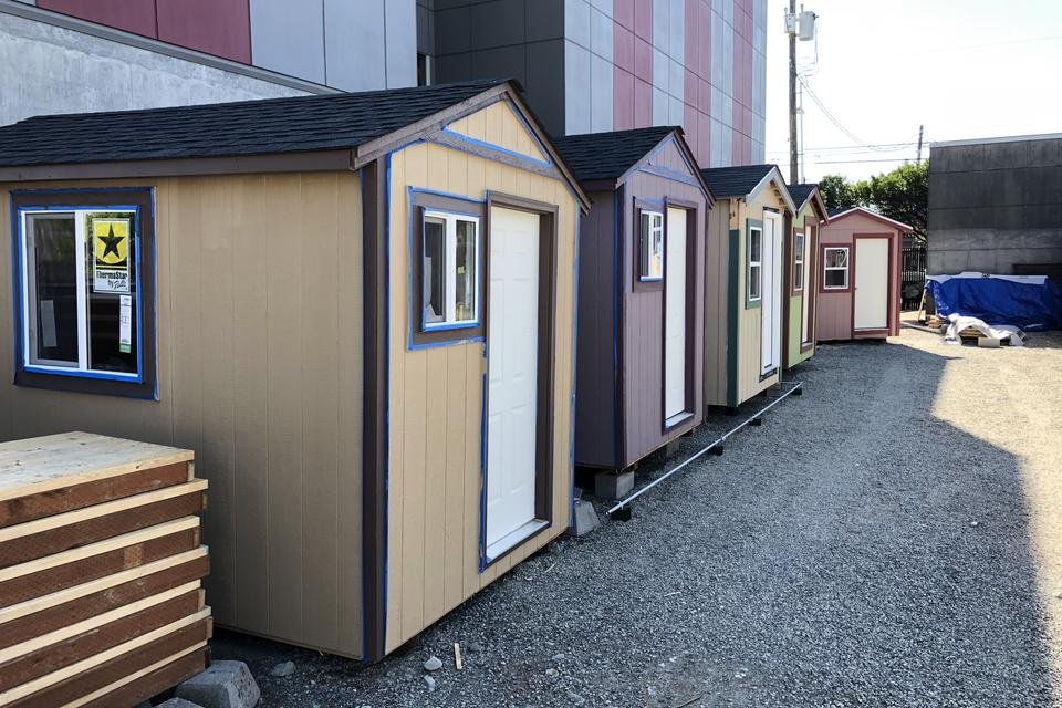 Seattle S New Tiny House Village For The Homeless Women Only